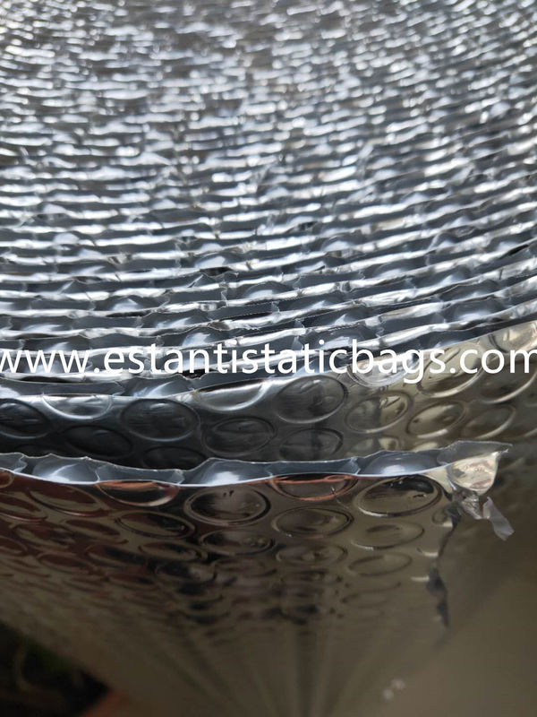 Dust Free Silver Bubble Wrap Insulation 96 97 Reflective Foil