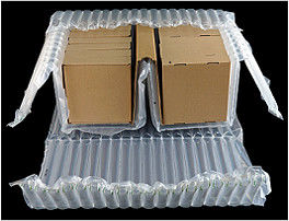 China Protective Transparent Clear Inflatable Packaging Bags 0.06mm Thickness distributor