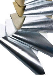 Single Side Aluminum Foil Scrim Kraft Paper Economical Grade Duct Wrap