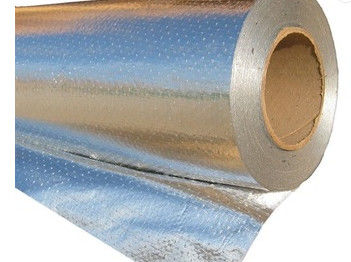 China Tear Resistant Radiant Barrier Foil Insulation , Perforated Radiant Barrier distributor