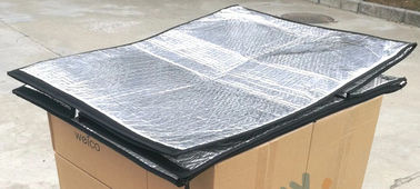 1mx1.2mx1.5m Insulated Pallet Cover Class A Flame Grade With Thermal Reflection