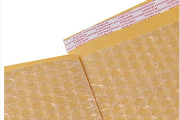 110*290 Kraft Paper Bubble Mailers , Kraft Bubble Mailers Padded Envelopes